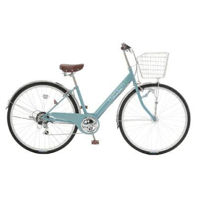 アサヒサイクル Asahi Cycle 27型 自転車 ジオクロスN スレートブルー/外装6段変速 FVN76S