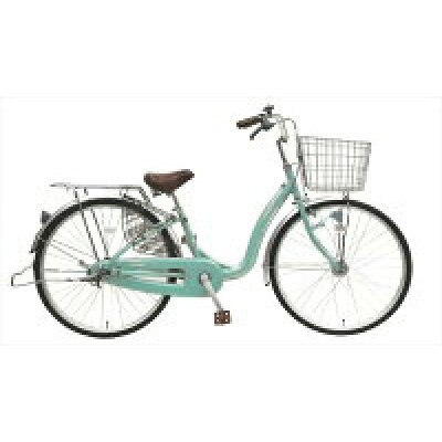 アサヒサイクル Asahi Cycle 26型 自転車 トゥイーゴ シングルシフト/GLグリーン TALC6-257