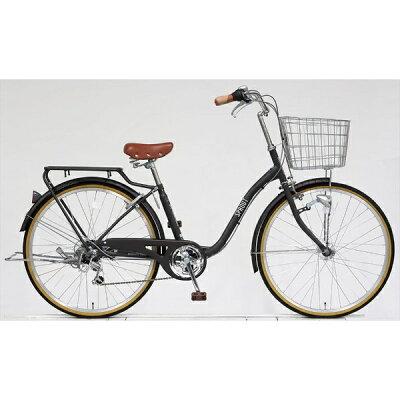 アサヒサイクル 26型 自転車 スプラウト266 マットチャコールグレー/6段変速 FD66LG
