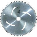 金蔵ブレード 剣舞 木工用チップソー精密仕上用 外径165mm・72P 1359an