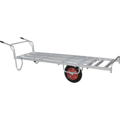 アルミ製 花用1輪車(荷台全面フラット) CN-200S