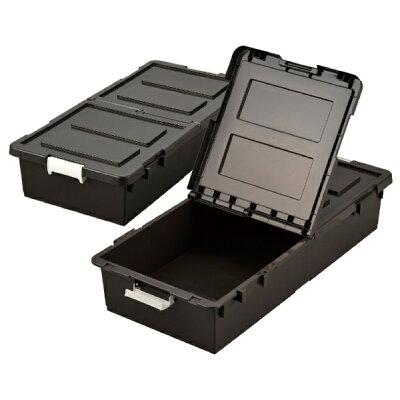 EJ ベット下収納ボックス 2個組 ブラウン BR  9504290