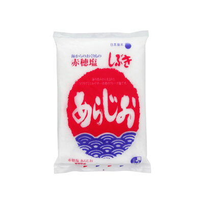 日本海水 赤穂塩 しぶきあらじお 600g