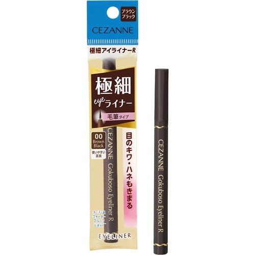 セザンヌ 極細アイライナーR 00 ブラウンブラック(0.75ml)