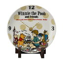 ディズニー 陶時計 D-VP01 ヴィンテージプー 21268