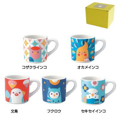 KOTORITACHIマグカップ(S) オカメインコ