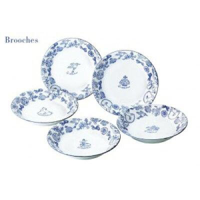 Brooches ブローチズ パスタ&カレー皿 日本製 29517 941853
