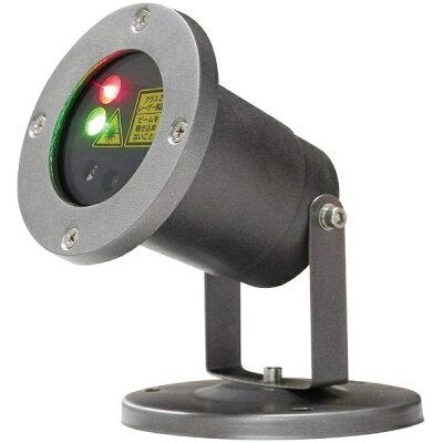 イルミネーションレーザーライト DE-004R LEDレーザーイルミネーションライト レッド&グリーン