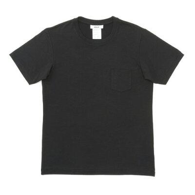 MXP/エムエックスピー MX16103-K ファインドライ クルーネックポケット付半袖シャツ メンズ ブラック