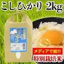 広島県東城町産 こしひかり 特別栽培米 2kg