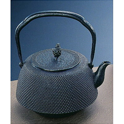 南部鉄器 鉄瓶18型肩付アラレ 11017