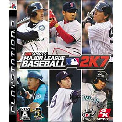 メジャーリーグベースボール 2K7/PS3/BLJM60031/A 全年齢対象