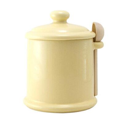 ZEROJAPAN  キャニスター M 木製スプーン付 420cc保存容器 コーヒー 豆 キャニスター 密封