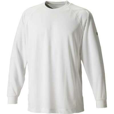 Phiten/ファイテン JF900005 RAKUシャツSPORTS 吸汗速乾 長袖 ホワイト