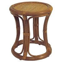 籐スツール ラタン椅子(イス・チェア)  C415HR