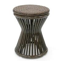 籐スツール ラタン製椅子(イス・チェア) C418BK
