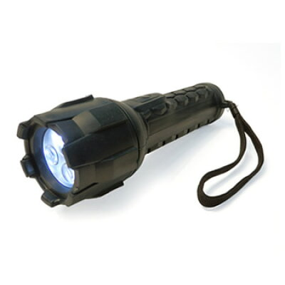 マクサー mle3-ruh ラバーグリップハンドライト 懐中電灯 高輝度白色led 灯