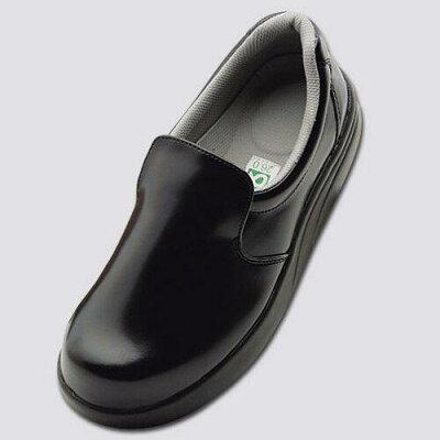 弘進ゴム 布靴 厨房靴 シェフメイトセーフティー α-300 黒 28.0cm E0635CI 1204631