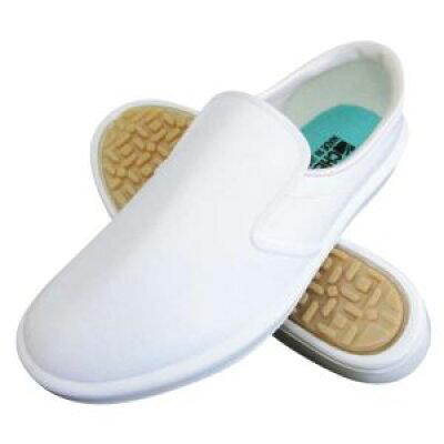 弘進ゴム 布靴(厨房靴) シェフメイト α-4000 白 23.5cm E0634BA (ab-1204461)
