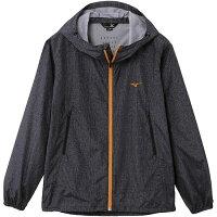 mizuno/ミズノ A2JE6101-09 デニムプリントトレイルジャケット ブラック