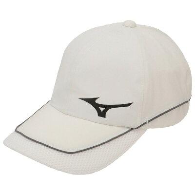 ミズノ メンズ ゴルフキャップ ネクスライトレインキャップ フリーサイズ/ベイパーシルバー 52MW8A0104
