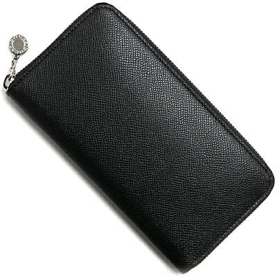 BVLGARI 20886 クラシコ グレインレザー 長財布