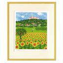 額装品 パンノンハルマの丘 はりたつお アートフレーム 美工社 36.5×44×2cm 300枚