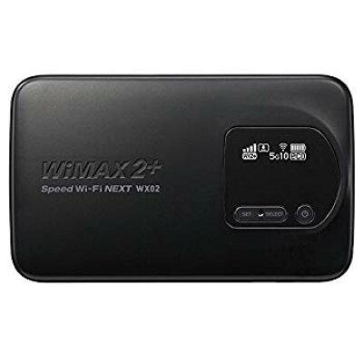 Speed Wi-Fi NEXT WX02 NAD32SKU(マットブラック)