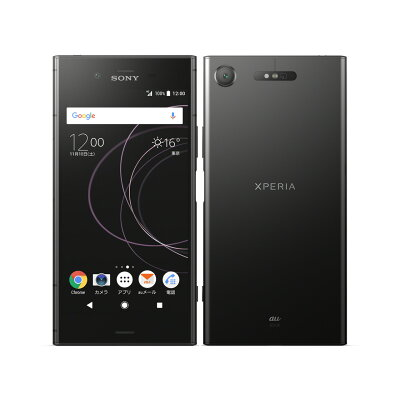 SONY Xperia XZ1 SOV36 ブラック