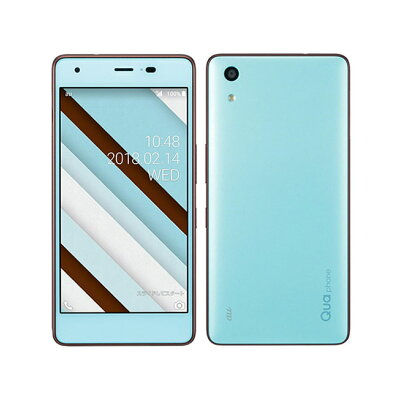 KYOCERA Qua phone QZ KYV44 チョコミント