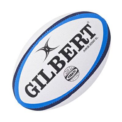GILBERT ラグビーボール3号 AWB-3000SL GB9127 小学校低学年用 ジュニア 練習球 日本ラグビーフットボール協会認定球