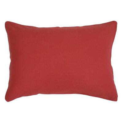メリーナイトmerry night 綿100% ニット素材 枕カバー   レッド nt4363-13