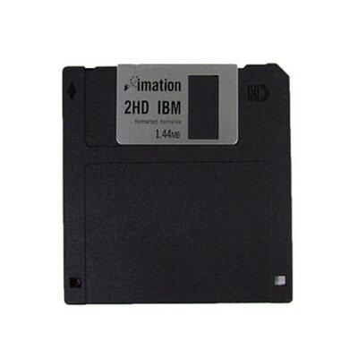 imation フロッピーディスク MF2HD10P(IBM)-O