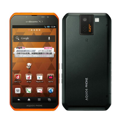 SHARP AQUOS PHONE sv SH-10D ORANGE