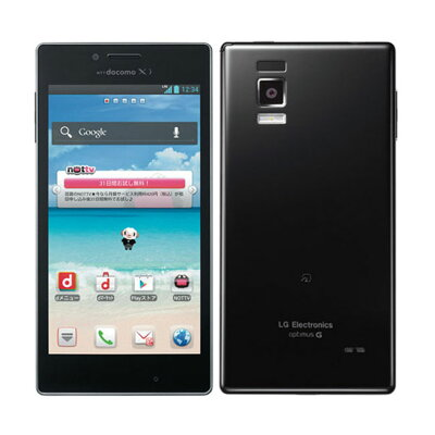 LG Optimus G L-01E Black