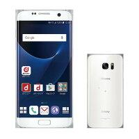 SAMSUNG Galaxy S7 edge SC-02H White Pearl