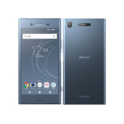 SONY Xperia XZ1 SO-01K Moonlit Blue