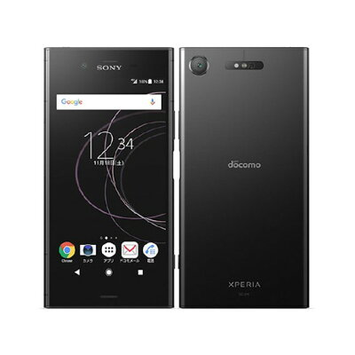 SONY Xperia XZ1 SO-01K Black