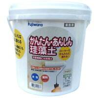フジワラ化学 かんたん・あんしん珪藻土(内装調湿形仕上塗材) 10kg アイボリー