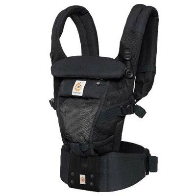 エルゴ アダプト クールエア EBC3P ADAPT (日本正規品保証付) ブラック(1個)