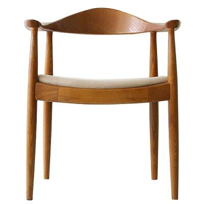 Hans Jorgensen Wegner The Chair ザ・チェア ファブリックシート ブラウン