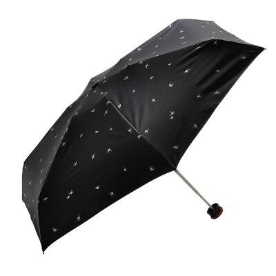 ハイマウント ハススマートミニ パラソル スワロー ブラック軽量 コンパクトな晴雨兼用遮光日傘