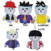 KRUNK × BIGBANG ぬいぐるみ玩具 フィンガーパペット マスコット ビッグバン HNA K-POP