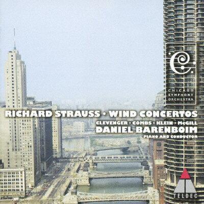 R.シュトラウス:管楽器のための協奏曲集/CD/WPCS-12091