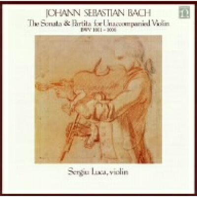バッハ:無伴奏ヴァイオリンのためのソナタとパルティータ/ルカ WQCC-274