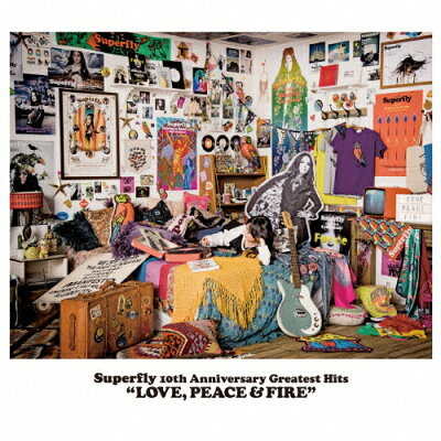 LOVE,PEACE & FIRE/CD/WPCL-12621