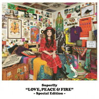 LOVE,PEACE & FIRE -Special Edition-/CD/WPCL-12828