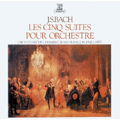 J.S.バッハ:管弦楽組曲(全5曲)/CD/WPCS-28403