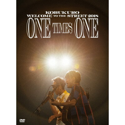 KOBUKURO WELCOME TO THE STREET 2018 ONE TIMES ONE FINAL at 京セラドーム大阪(初回限定盤)/DVD/WPBL-90495