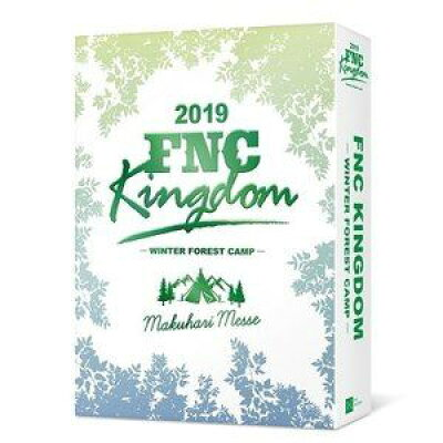 2019 FNC KINGDOM -WINTER FOREST CAMP-(完全生産限定盤)/Blu-ray Disc/WPXL-90234